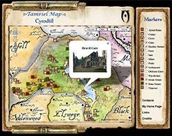 Oblivion Karte.Elder Scrolls Tamriel Maps With Skyrim And Dragonborn
